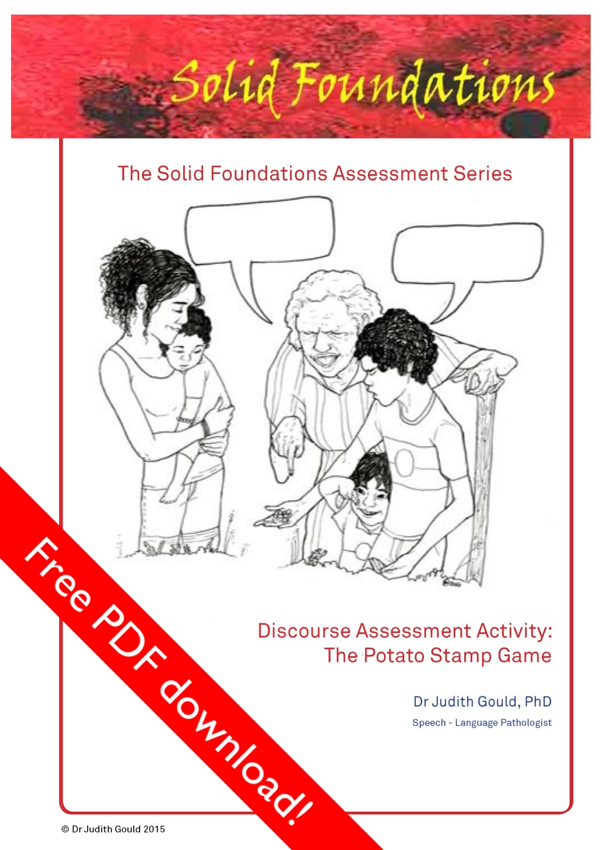 Discourse Assessment Activity: The Potato Stamp Game