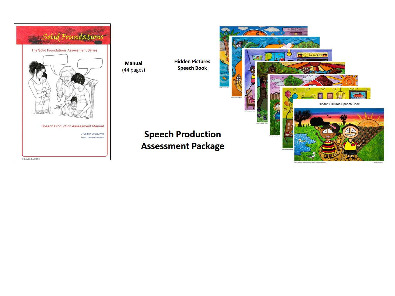 Speech Production Assessment Package